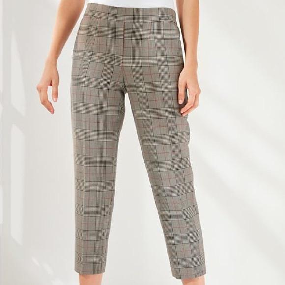Babaton Conan Check Pants - Size 2 Aritzia